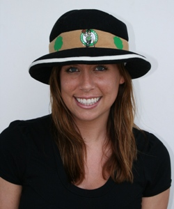 Boston Celtics bowler style hat