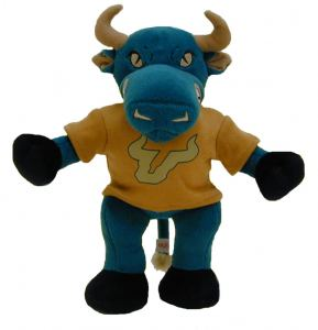 "South Florida Bulls 10"" Plush Mascot"