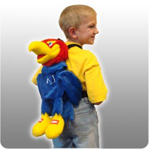 Kansas Jayhawk Back Pack