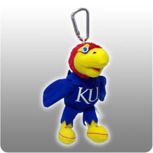 Kansas Jayhawk Key Chain Clip
