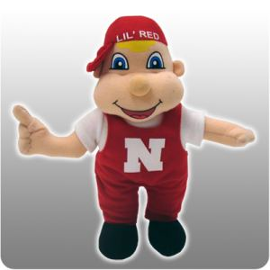 University of Nebraska Corn Huskers 10""